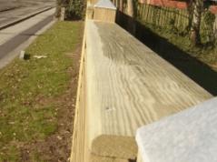 Afdekplaat NoiStop wood voor een mooie dichte afwerking