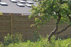 Noistop wood in de tuin 2