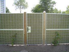 Achterkant NoiStop green deur