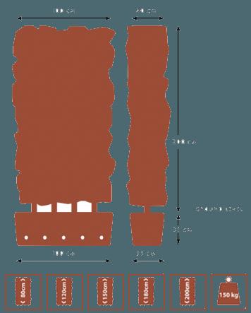 QuickHedge hagen zonder raster