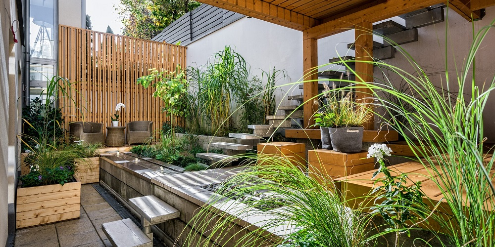 Kleine tuin inrichten lees het stappenplan for Kleine achtertuin inrichten